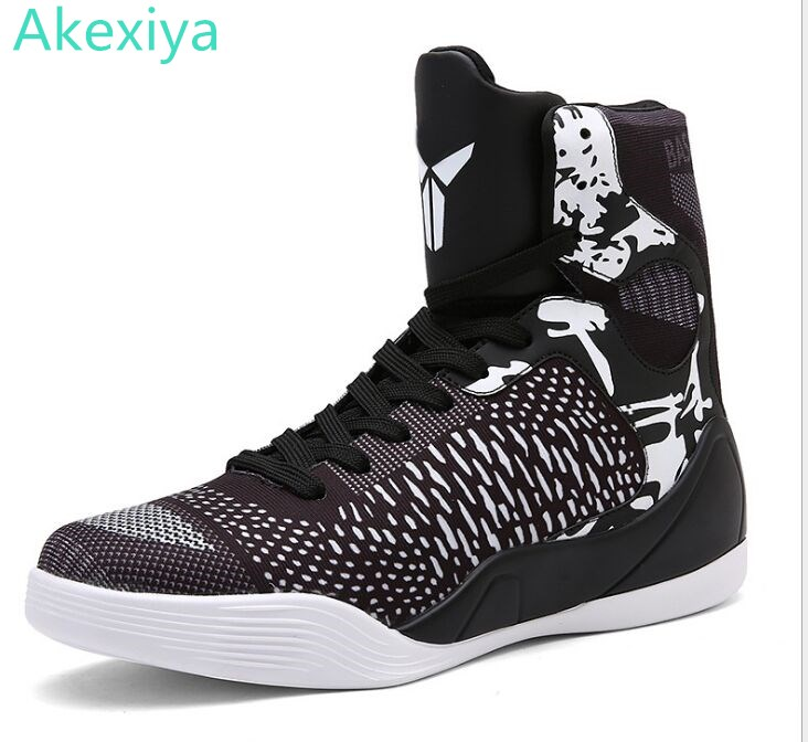 1be7e6ba13f Mens Basketball Sneakers High Top Basketball Shoes For Men Black Green  Shoes Training Men Leather Sport Shoes Men Basketball