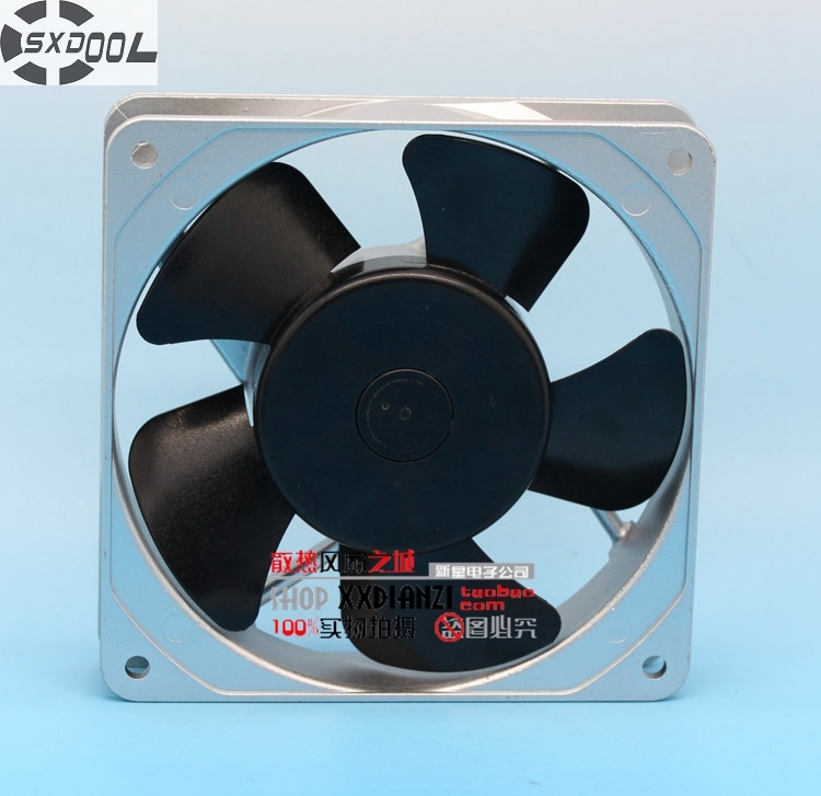 все цены на  SXDOOL industrial blower fan  CU52B3 12025 12cm 200v 13/11W AC silent  cooling  онлайн