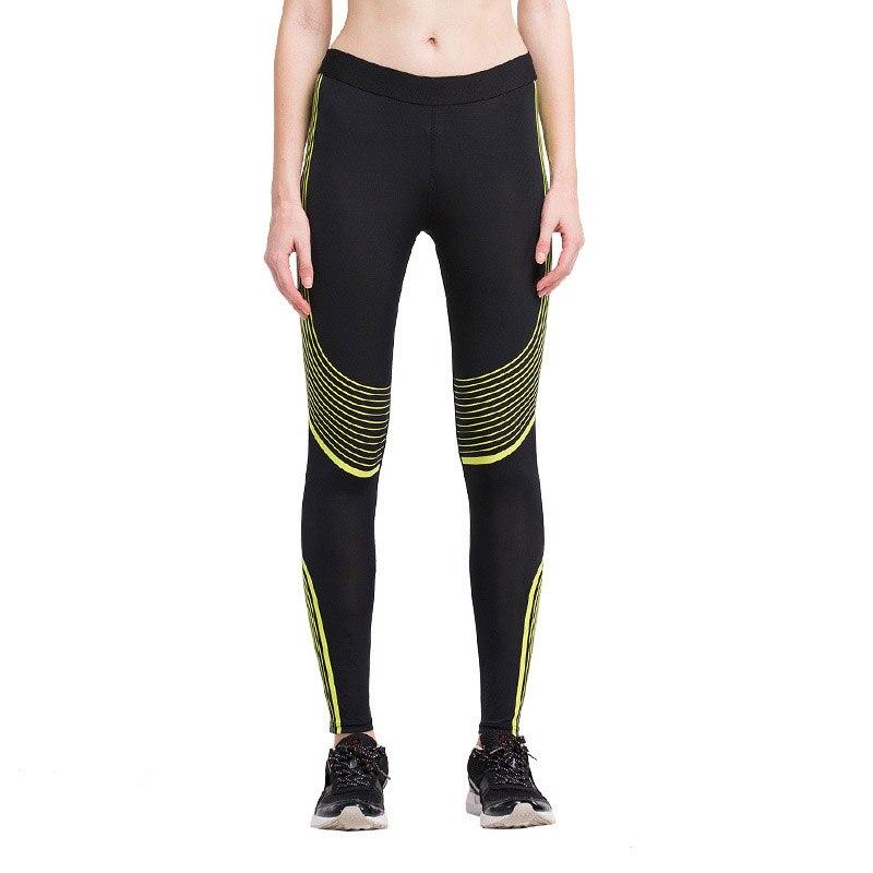 2016 Sport Leggings High Waist Compression Pants Gym