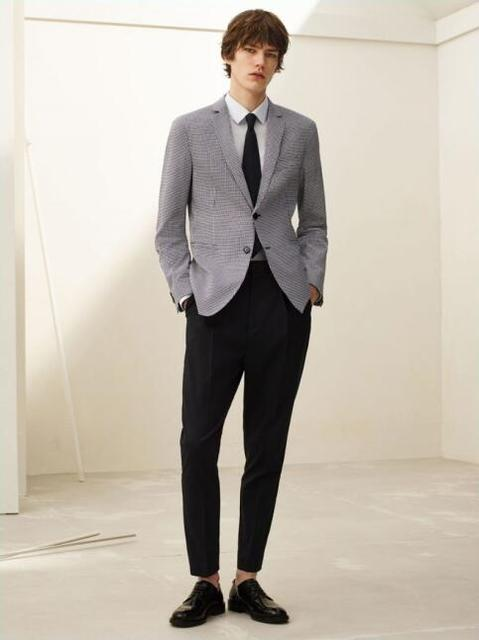 Latest Coat Pant Designs Grey Formal Wedding Suits For Men Custom