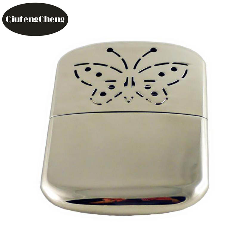 Stainless Steel Pocket Long-life Ultralight  Hand Warmer Indoor Outdoor Small Handy Warmer Heater