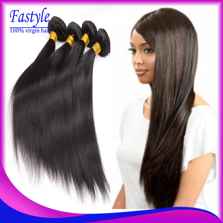 7a Brazilian Virgin Hair Straight Good Cheap Weave 100 Remy Human