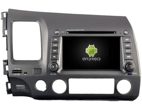 POUR HONDA CIVIC 2006-2011 Android 7.1 lecteur DVD de Voiture gps audio multimédia auto stéréo soutien DVR WIFI DAB OBD