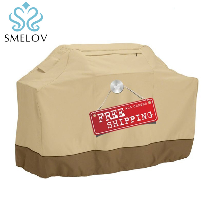 Portable Waterproof Bbq Grill Cover Protective Cover For Gas Charcoal Electric Barbe Rain Outdoor Camping Barbecue Accessories