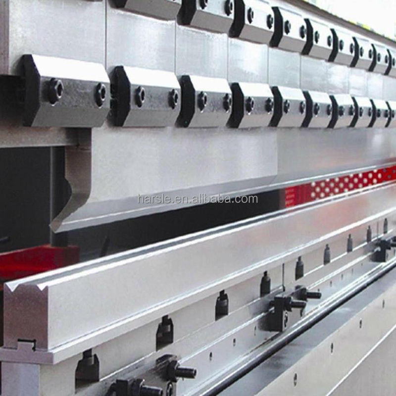 42CrMo upper and down press brake tooling gooseneck punches  full list 42crmo 2v down tooling for wc67k hydraulic press brake