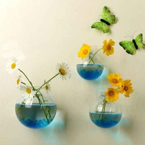 Jardim suprimentos casa pendurado vaso de bola de vidro vaso vaso vaso vaso vaso vasos terrário recipiente casa decoração do jardim