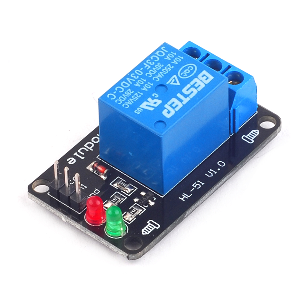 1PCS 1 Channel 3V Relay Module Low Level Trigger with Lamp 16 channel relay module low level trigger relay control panel with optocoupler dc12v for plc automation equipment control