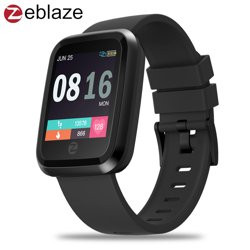 Zeblaze Crystal 2 Smartwatch IP67 Waterproof Wearable Device Heart Rate Monitor Color Display Smart Watch For Android/IOS