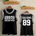 Kpop BigBang Big bang G-dragon sol kpop BigBang BigBang TaeYang DaeSung victoria uniforme de béisbol SUPERIOR hecho