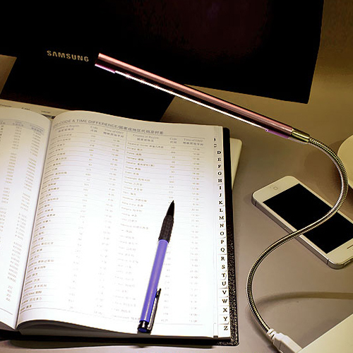 NEW Metal Material USB LED light lamp 10LEDs flexible variety of colors for Notebook Laptop PC Computer