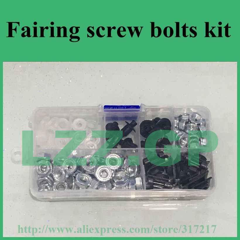 Fairing bolts kit For KAWASAKI Ninja ZX6R ZX-6R 1995 1996 1997 95 96 97 Body Fairing Bolt Screw Fastener Fixation Kit K-32