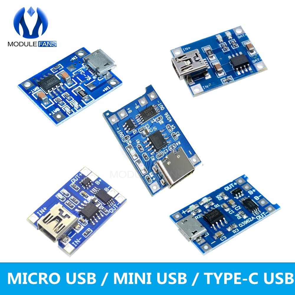 Mini Usb 5V 1A Lithium Battery Charging Board Charger Module In 4-8V TP4056 iz
