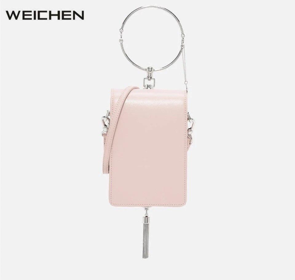 2017 New Ring Solid Women Top-handle Bag Handbags Crossbody Bags Female Messenger Bags Women's Shoulder Handbag Small MINI Bag