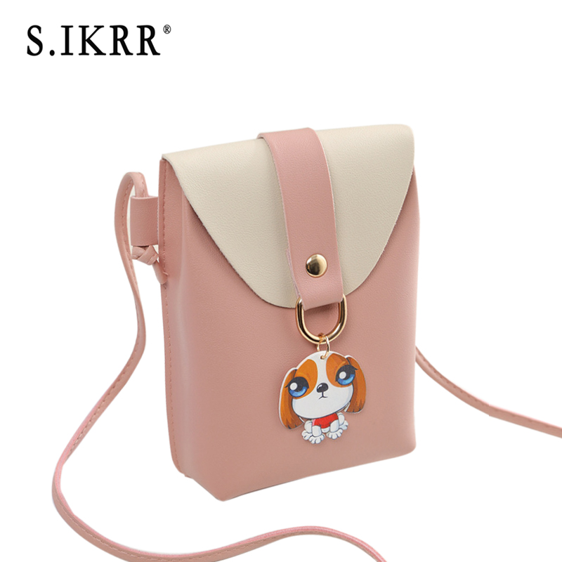 S.IKRR Luxury Handbags Women Bags Designer Small Phone Bags Mini Cute Solid Color Luck Star Shoulder Bag Cross Body Pink Bags