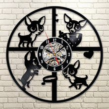 Creative Wall Clock with LED Light
