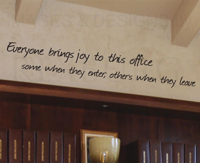 Office Wall Decor Quotes