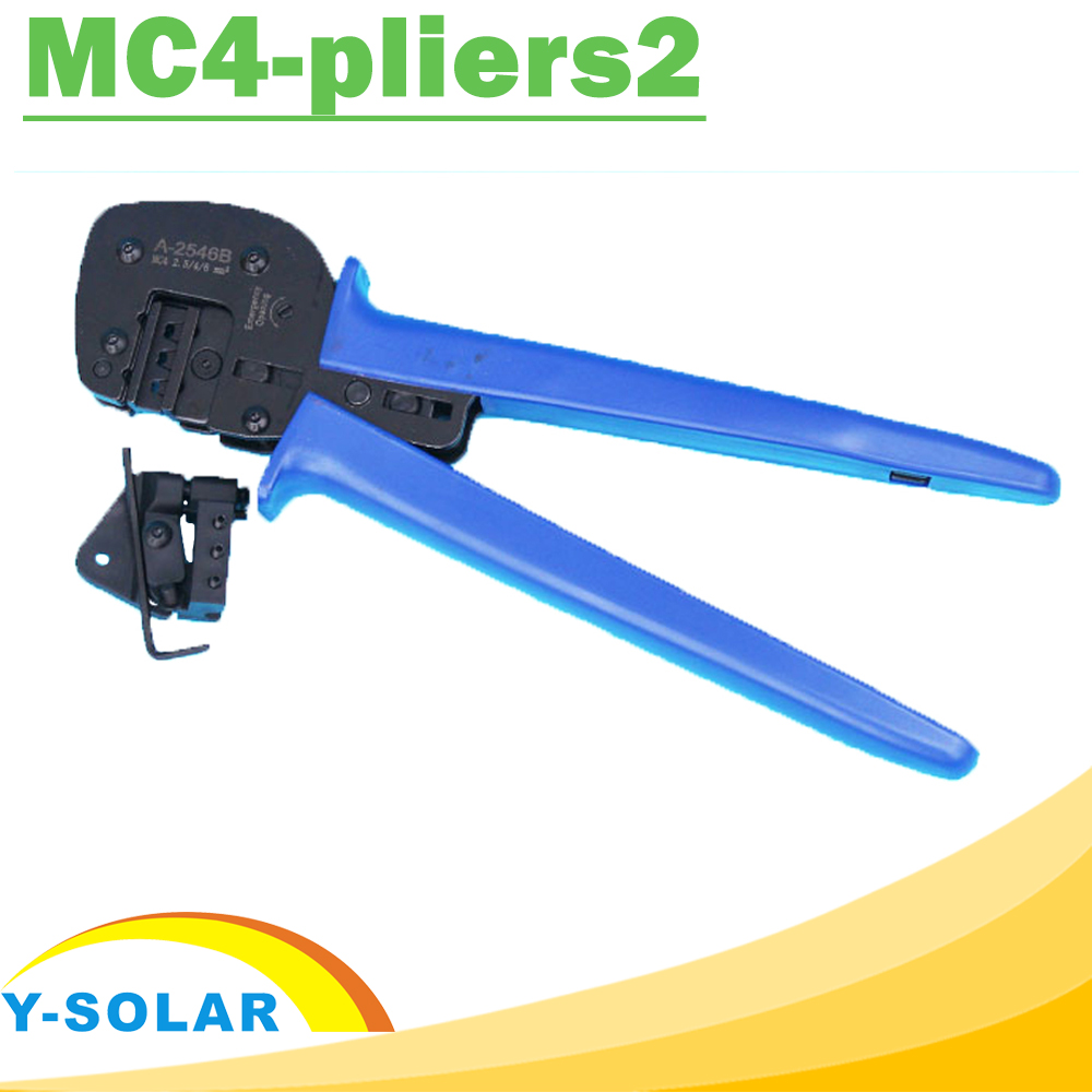 MC4 Hand Crimping Tool MC4-pliers2 for Solar Panel PV Cables (2.5-6.0mm2) MC4 Connectors