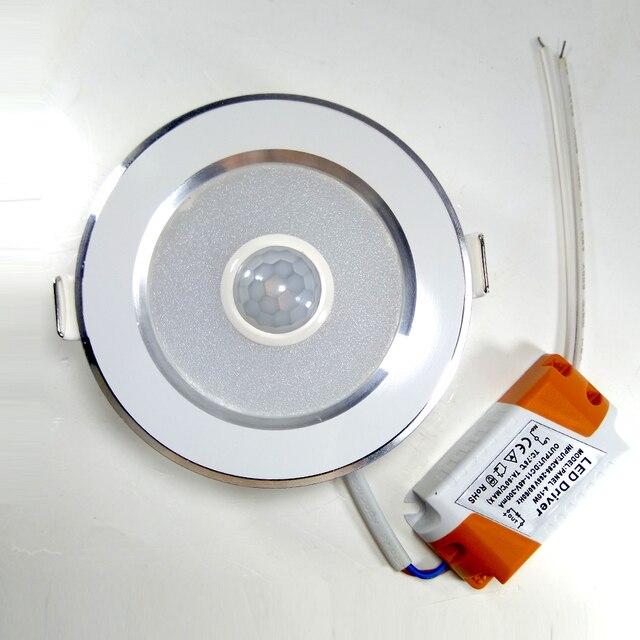 Hogar inteligente Sensor de movimiento de techo LED luces lámparas 5 W 7 W 9 W 12 W 15 W 18 W lámparas de techo para habitación de niños
