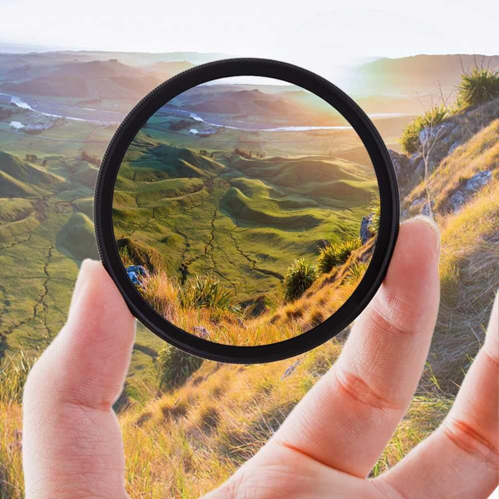 Super Thin 49/52/55/58/62/67/72/77MM Waterproof Circular Polarizer CPL Camera Lens Filter Polarisator For canon for sony camera