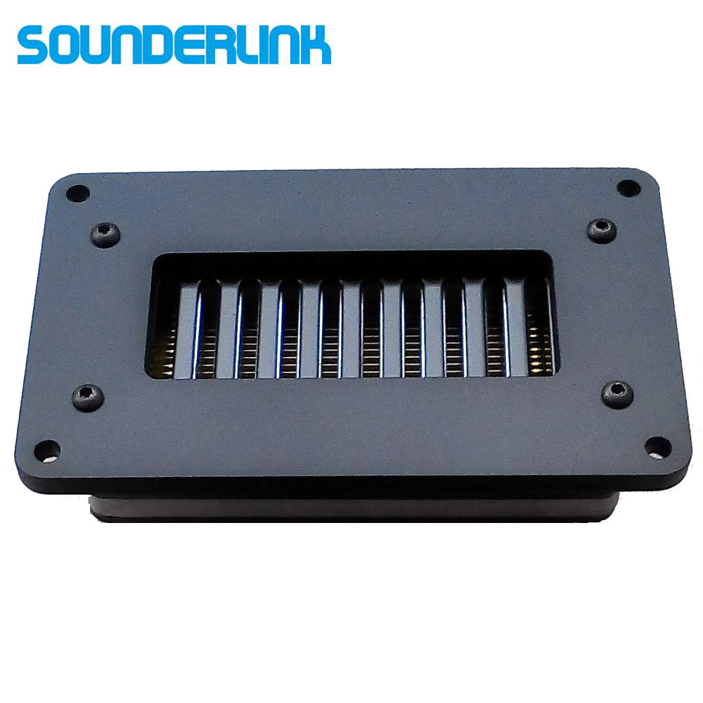 Sounderlink 1PC Superb planar transducer Aero Striction Tweeter AMT aluminum speaker air motion transformer tweeter amt ribbon tweeter raw speaker driver air motion transformer tweeter speakers 1 pair