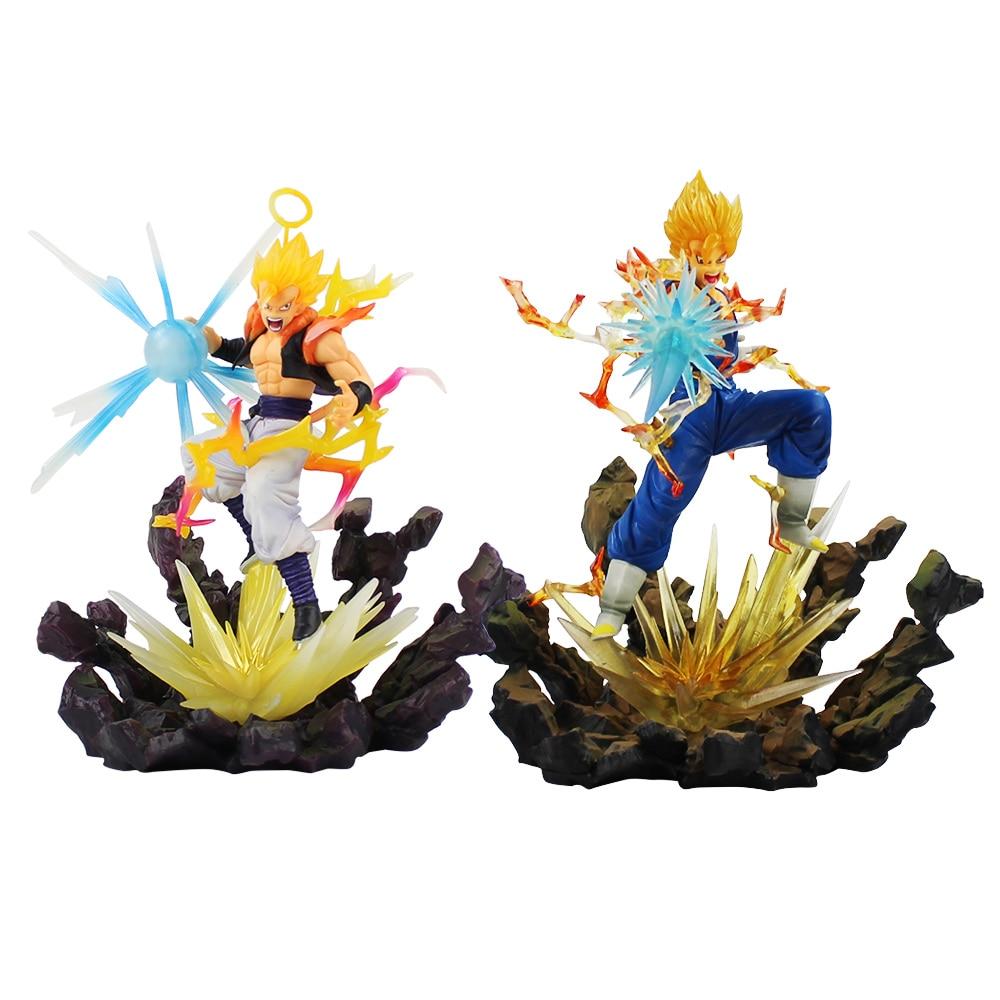 Dragon Ball Z Goku Vegeta Fusion Figure Toys Anime Dragonball Super Saiyan Son Gokou Vegetta PVC Action Figure Model Toys Gifts