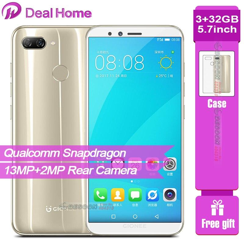 Téléphone portable Global Gionee F6 5.7