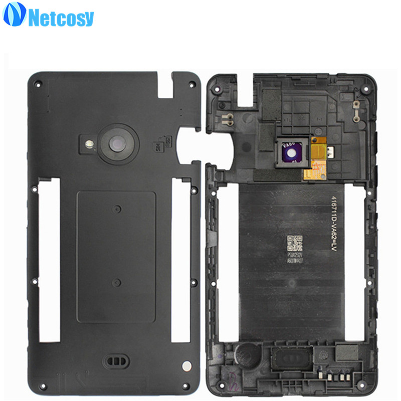 Netcosy Newest Middle Mid Plate Frame Bezel Housing Cover for Nokia lumia 625 N625 Middle Frame Cheap Replacemenrt Repair