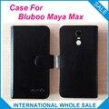 Hot!! 2016 Maya Max Caso Bluboo, 6 Cores de Couro de Alta Qualidade Caso Exclusivo Para Bluboo Maya Max Tampa Saco Do Telefone de Rastreamento