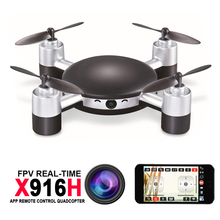 MJX X916H Wifi FPV APP Control Mini RC Quadcopter Helicopter with 720P HD Camera 2.4GHz Real-time Moblie Control RC Drones