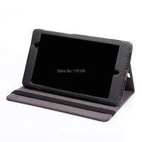 פו עור (PU) stand כריכה ספר בסגנון case עבור Google Nexus 7 לוח 7 אינץ 2th
