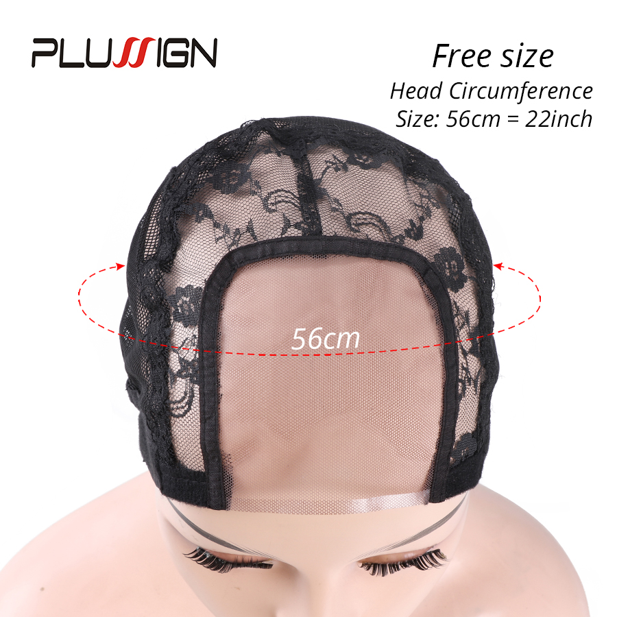 Plussign 1Pcs Lace Wig Cap Hair Net Wig Making Kit Wave Cap For Making Lace Frontal Wigs Ventilating U Part Dome Mesh Cap