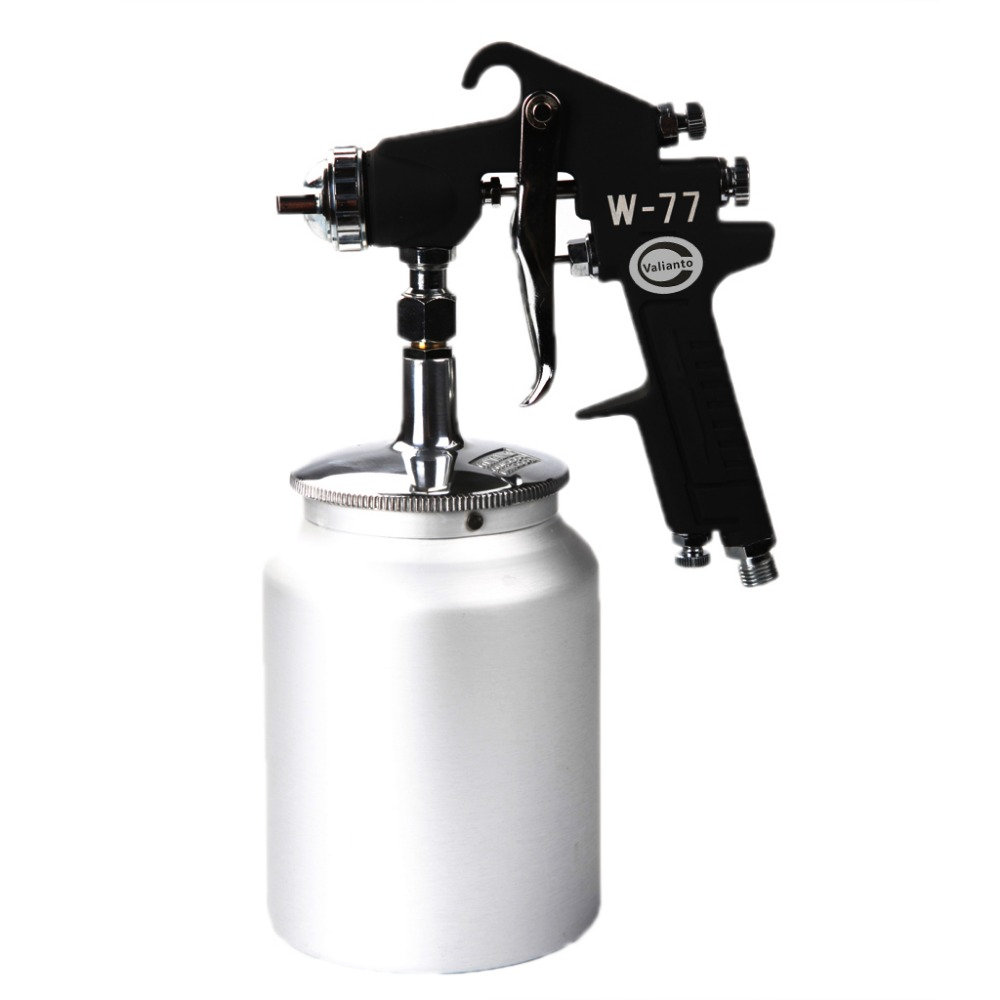W-77-S Siphon Feed HVLP Air Paint Spray Gun Professional Air Brush Spray Gun Sprayer Car Paint Gun elp oem 170 degree fisheye lens wide angle mini cmos ov5640 5mp autofocus usb camera module for android linux windows