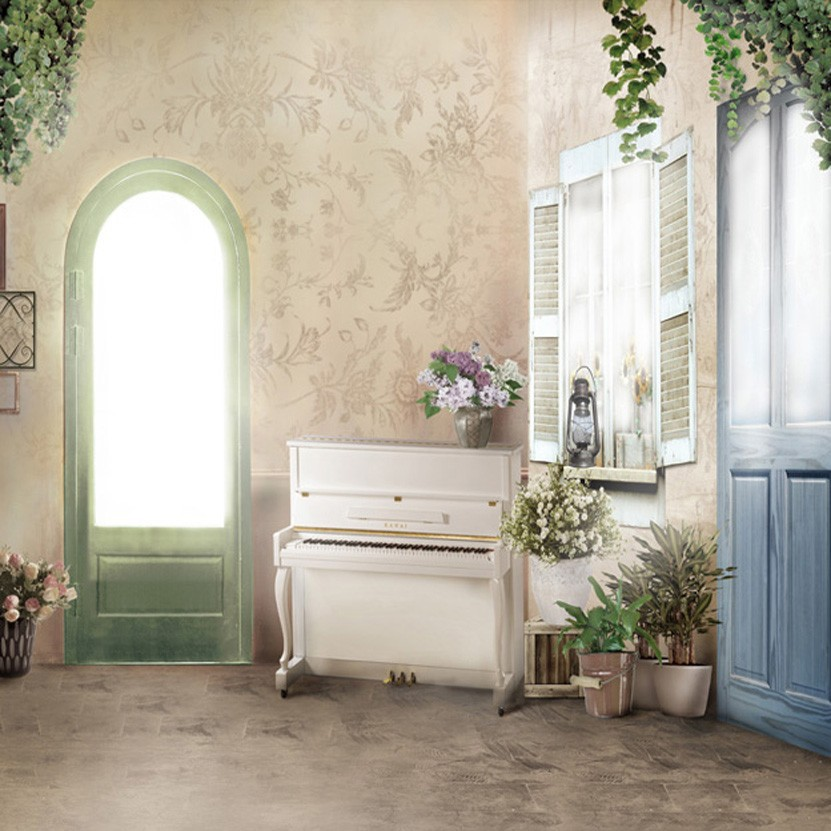 "Lifelike Backdrop Background for 1//4 17/""//44cm Bjd Doll Msd 60x120cm"