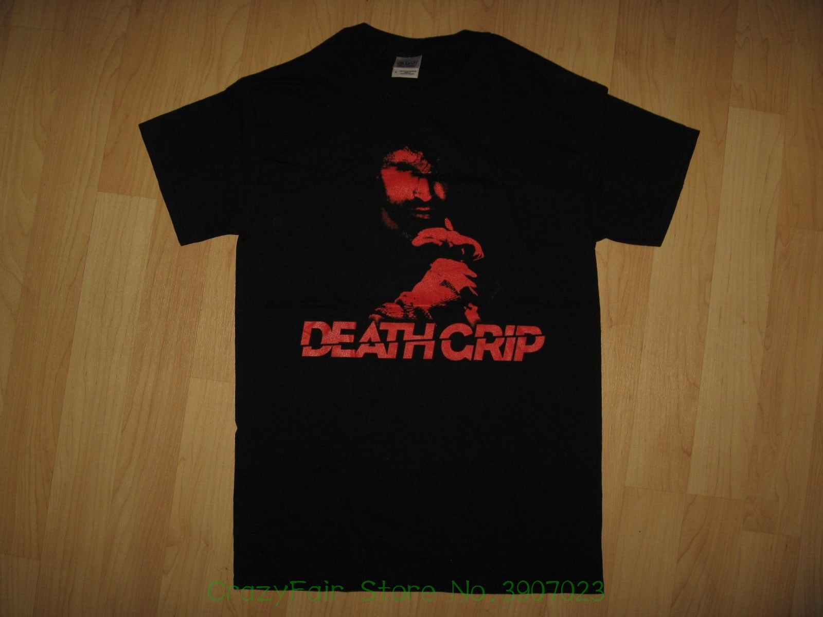 Death Grip Movie Tee - 2012 Martial Artist Film Eric Jacobus Black T Shirt Small New Comfortable Cotton Short-sleeve T-shirt image