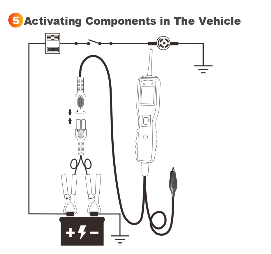 Ancel Pb100 Automotive Circuit Tester Vehicle Electrical System Scania 114 Wiring Diagram 1 User Manual