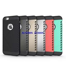 100pcs Dual Heavy Duty armor Shield Case For Apple iPhone 6 6S case 6S Protective Skin
