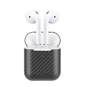 Image 4 - Real Carbon Fiber Case For AirPods 2 for AirPods Pro Wireless Earphone Charging Case Carbon Fiber LED Cover Accessories