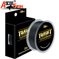 Ascon Fish 16 Strands Braided Fishing Line 300m for Cord Fishing Capr 16 Braids Multifilament Line20 500LB Green