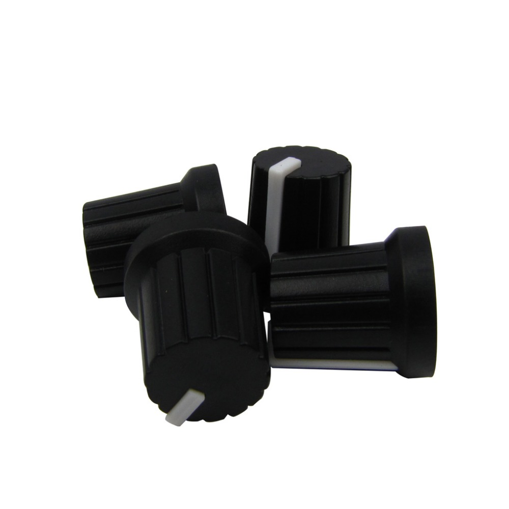 new 4pcs plastic electric guitar effect pedal knobs guitar amplfier control knobs white. Black Bedroom Furniture Sets. Home Design Ideas