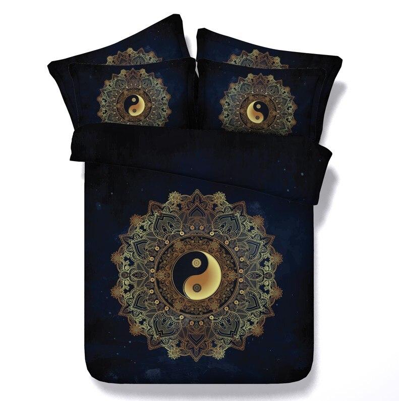 Китайский Постельные принадлежности Утешитель набор Queen Размер Калифорния Король ПОЛНЫЙ Двухместный пододеяльник кровать в мешок листов л