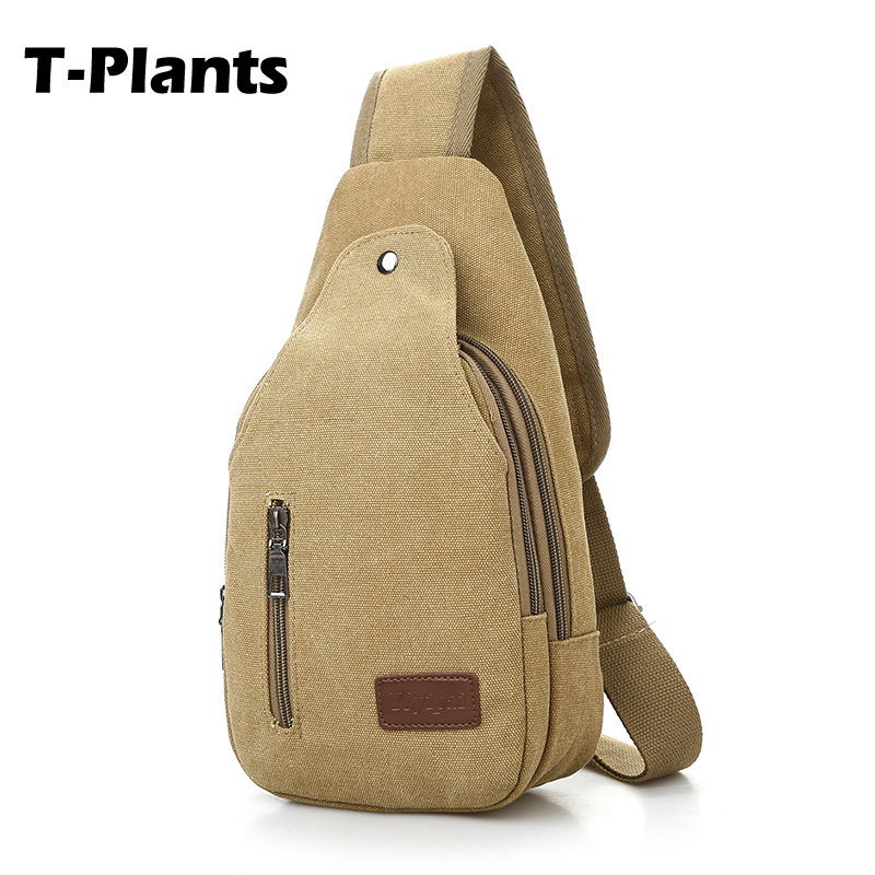 T-Plants New Arrival Designer Sling Back pack Waterproof Shoulder Bags Casual Travel Rucksack Chest Pack Bag Men Cross Body Bags