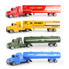 1 pcs Truck Model Diecast Toy Car Kids Toys Container Truck