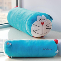 Candice guo plush toy stuffed doll animal Doraemon cat cylinder sleeping pillow waist cushion cartoon lover birthday gift 1pc