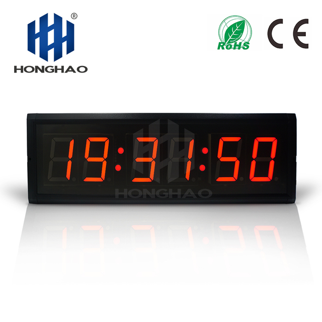 Honghao LED Timer Countdown Timer Clock Multifunction Home Gym Sports Match Timer