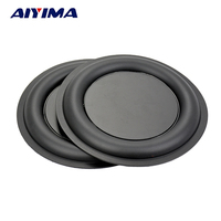 2Pcs Stereo Strengthen Bass Vibration Plate Membrane Vibrating Diaphragm Speaker