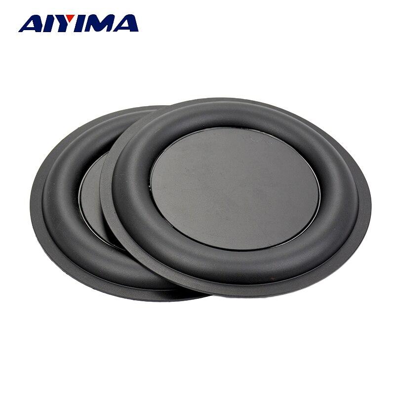 Aiyima 2Pcs 160MM Stereo Strengthen Bass Vibration Plate Membrane Vibrating Diaphragm Speaker