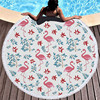 Round Patterned Beach Towel - Cover-Up - Beach Blanket 8