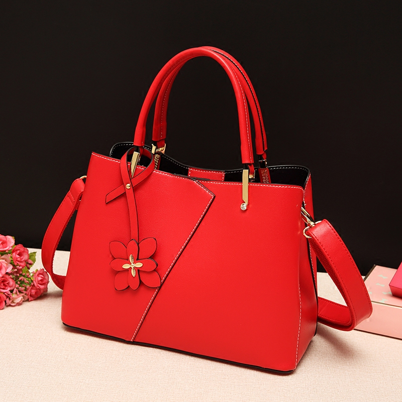 Red Bag Girl 2018 spring summer new wedding bag handbag Bridesmaid Bag Satchel, bride bag single shoulder bag