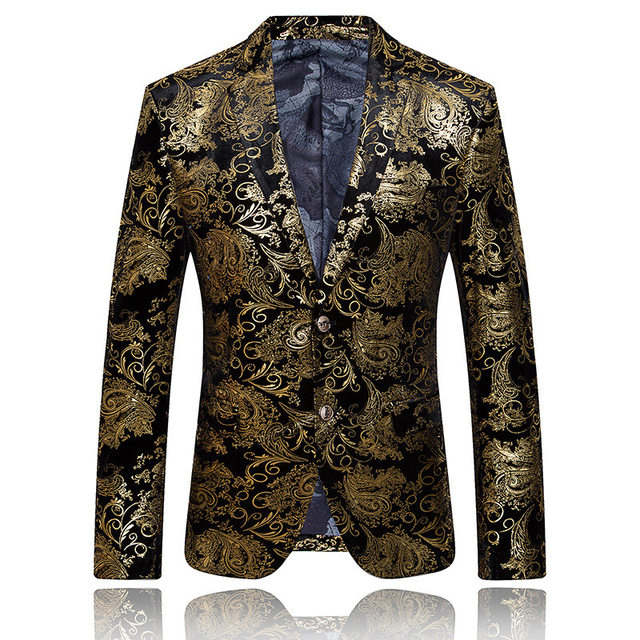 Black and Gold Sequin Prom Suit – Fashion dresses