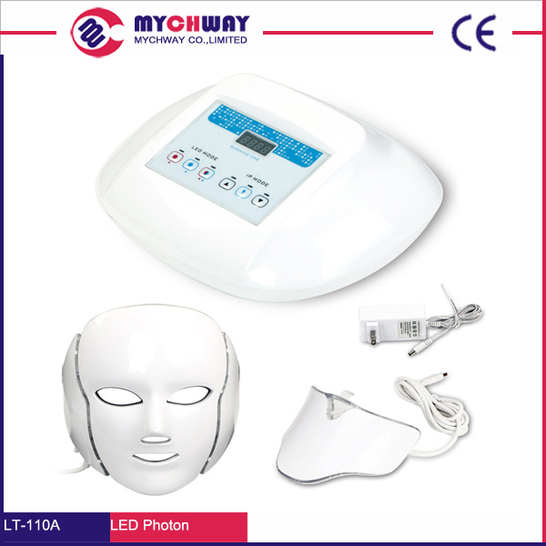 Wrinkle Removal Beauty Machine PDT Anti-Aging Mask Therapy Photon Device 3/7 Colors LED Facial Mask Skin Rejuvenation Electric